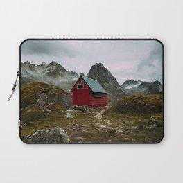 The Mint Hut in Hatcher Pass, Alaska Laptop Sleeve