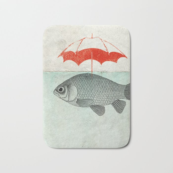 Umbrella Goldfish Bath Mat