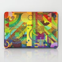 kandinsky iPad Cases featuring Future Patterns. by Nick Nelson