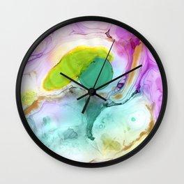Caribbean Sea II Wall Clock