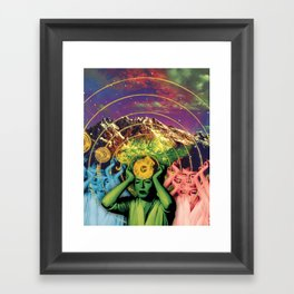 Universal Energy Framed Art Print