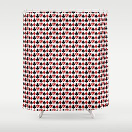 Is Love a Game? (Pattern) Shower Curtain