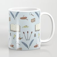 literature Mugs featuring Classic Literature by Meghan Hill