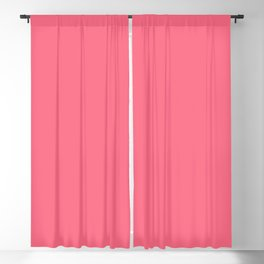 From The Crayon Box – Watermelon - Dark Pink Solid Color Blackout Curtain
