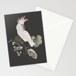 Cockatoo and Grapevine Stationery Cards