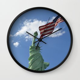 Liberty & Justice Wall Clock