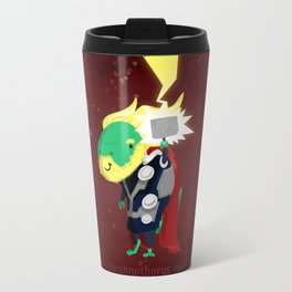 Tyrannothorus Rex - Tyrant King of Thunder Travel Mug