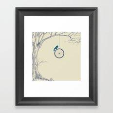 The Tree we Loved Framed Art Print