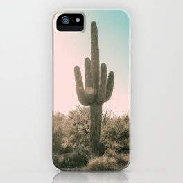 Cactus in Saguaro Naional Park iPhone Case