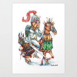 Ritter Art Print