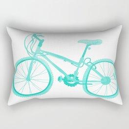 No Mountain Bike Love? Rectangular Pillow
