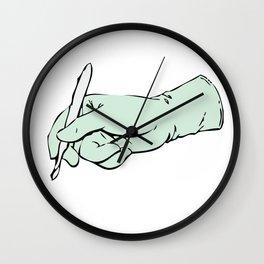 Scalpel Chirurg Wall Clock