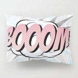 Water comics pastel boom Pillow Sham