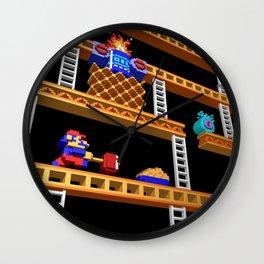 Inside Donkey Kong stage 2 Wall Clock