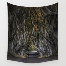Dark Hedges Alley Wall Tapestry