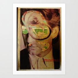 Michael D6 Art Print