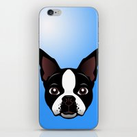 boston iPhone & iPod Skins featuring boston by the art of dang