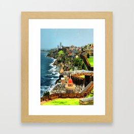 Faith Not Lost Framed Art Print