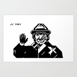 Yuri Andropov Art Print