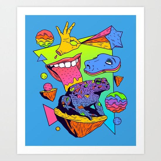 Licker Art Print