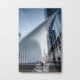Lightlines Metal Print