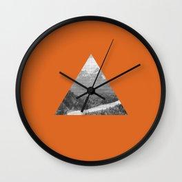 The Triangle Wall Clock
