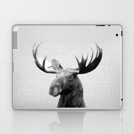 Moose - Black & White Laptop & iPad Skin