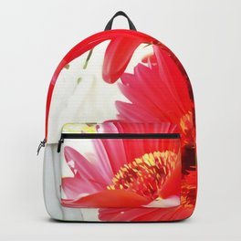 Red Gerbera Daisies WC Backpack