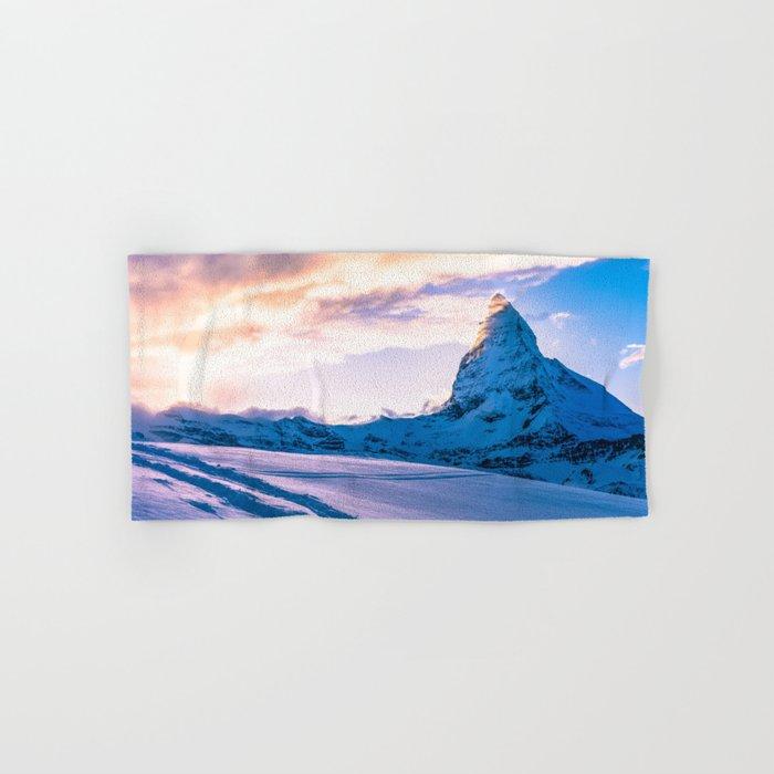 Mountain Peak (Morning Light) Hand & Bath Towel