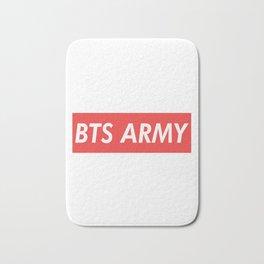 BTS ARMY red Bath Mat