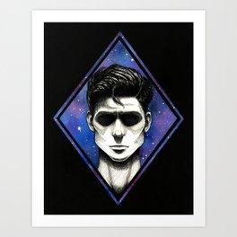 Galaxy Shadow Art Print