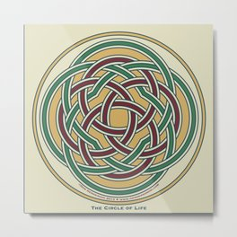 Circle of Life Metal Print