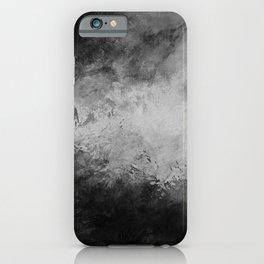 Dark splashed background iPhone Case