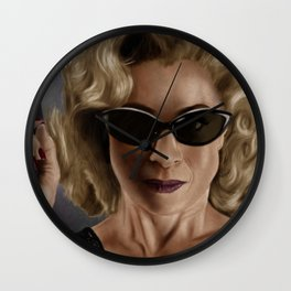 River Song (Doctor Who) Wall Clock