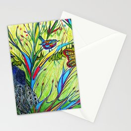 Peacock In Dreamland Stationery Cards