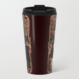 Chicana Mona Lisa Travel Mug
