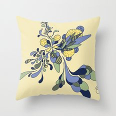 Splash of Fresh Throw Pillow