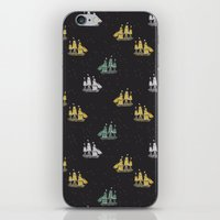 ships iPhone & iPod Skins featuring Clipper ships by Akwaflorell