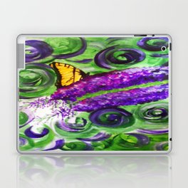 Butterfly Bush Laptop & iPad Skin
