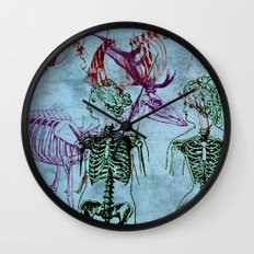 Our Young Bones Wall Clock