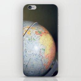 Vintage Globe iPhone Skin