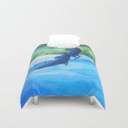 Dolphin dance Duvet Cover