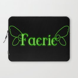 Faerie With Wings Laptop Sleeve