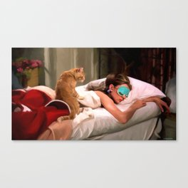 Audrey Hepburn #4 @ Breakfast at Tiffany's Canvas Print