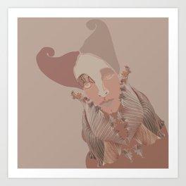 Monochrome Art Print