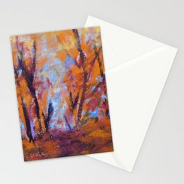 Autumn Sketch Stationery Cards