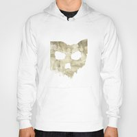 ohio state Hoodies featuring Ohio Skull by Will Ruocco