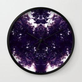 Tiles & Motifs - Purple Dragon Wall Clock