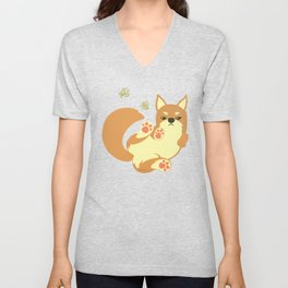 Chai Dog Unisex V-Neck