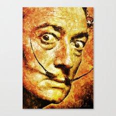 Dali's Eyes Canvas Print